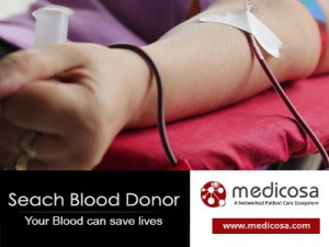 search blood donor